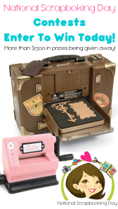 National Scrapbooking Day Contest