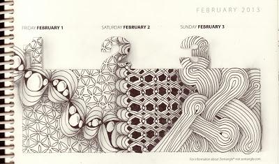 A Tangle a Day Calendar--