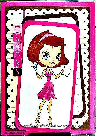Coloring Alicia - Alicia's Little Shop